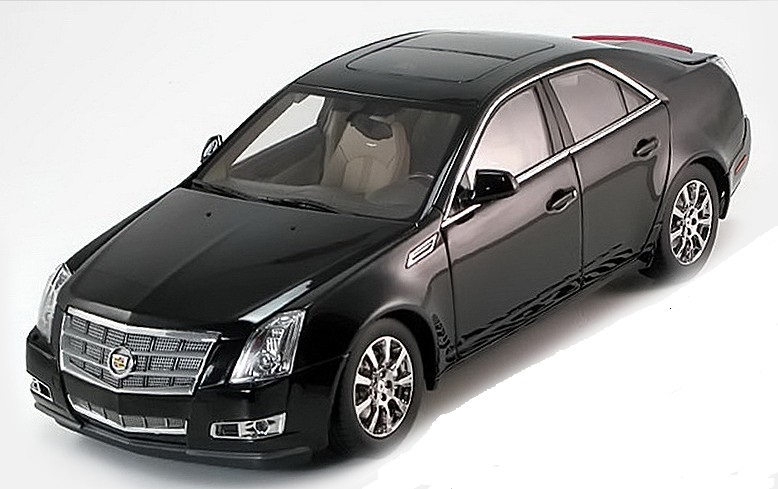 Коллекционная модель Cadillac CTS 2009
