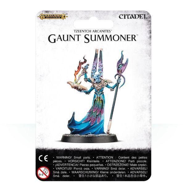 Gaunt Summoner. Упаковка