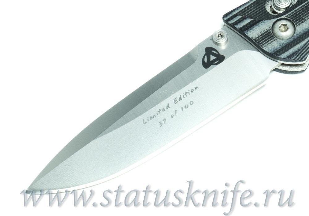 Нож BENCHMADE 730 - 801 Ares Acma Reus Limited #37 - фотография