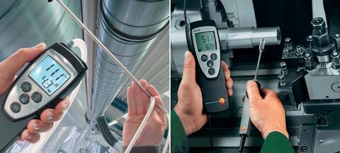 Измерения параметров микроклимата (температура, влажность, скорость движения воздуха)