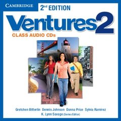 Ventures 2nd Edition 2 Class Audio CD's(2)