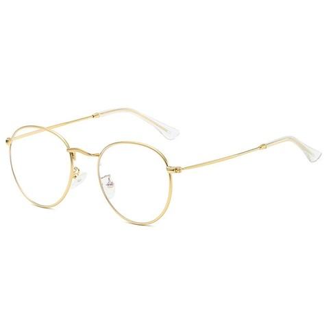 Компьютерные очки 3447001k Золотой - фото