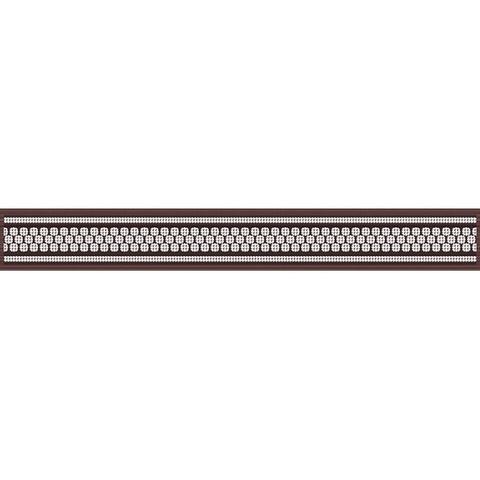 Бордюр Эрмида коричневый 05-01-1-56-03-15-1020-2 400х50