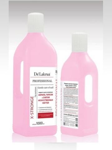 Жидкость DE LAKRUA для снятия акрила 500мл