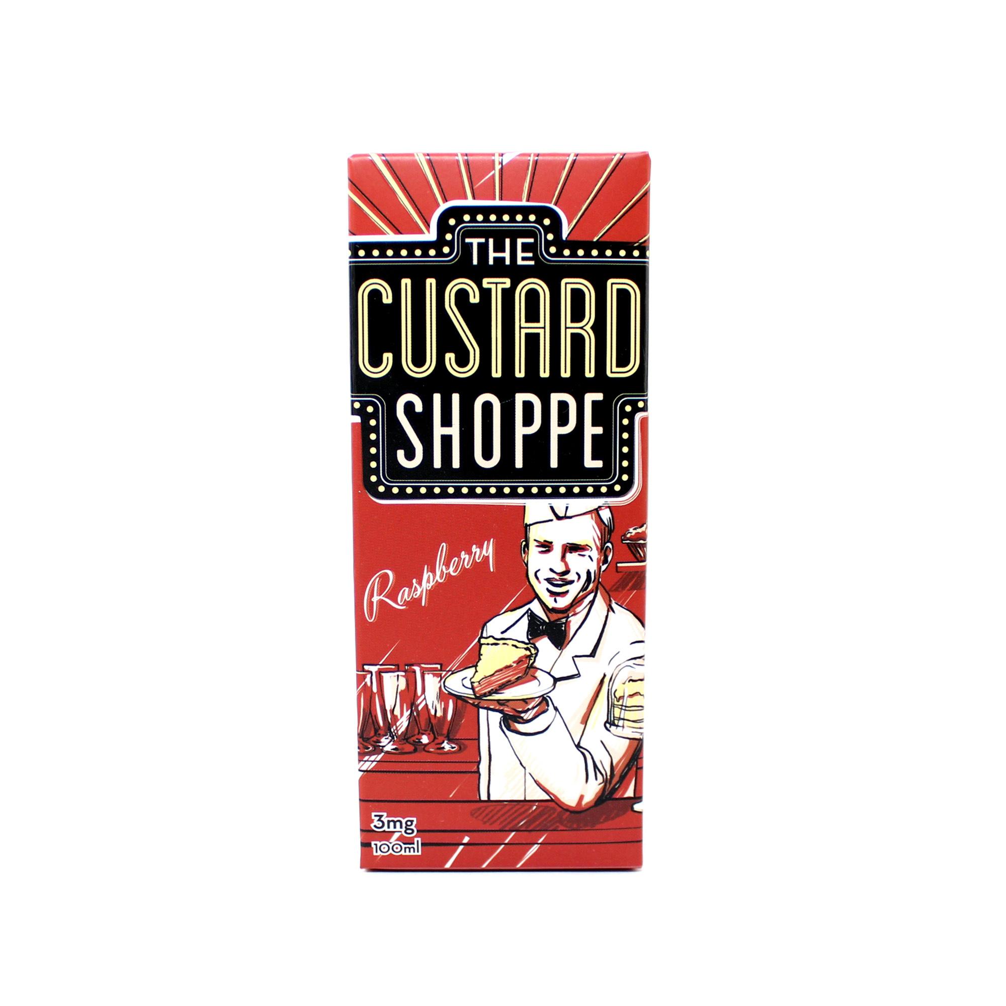 Жидкость The Custard Shoppe Raspberry