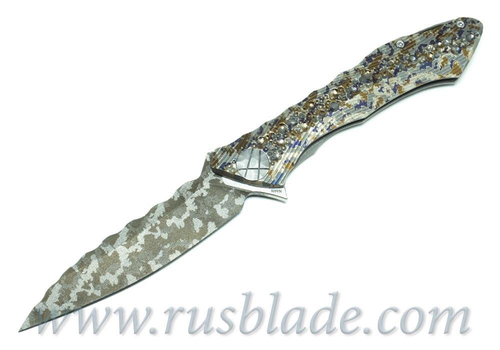 CKF Custom Rabbit Dragon Spine (Konygin design, s35vn, titanium, bearings) - фотография
