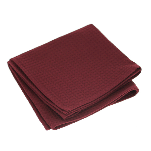 Полотенце банное Daribo SuperWaffle Burgundy, 50x100 см DA78115