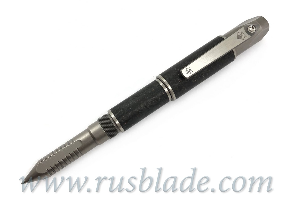 Shirogorov 2019 Pen Screwdriver Custom Division Bronze Marbled CF