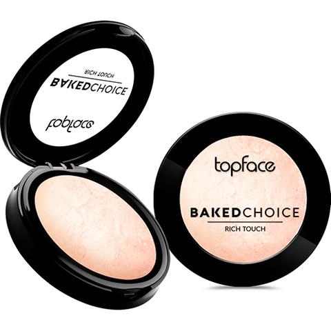 Topface Хайлайтер Baked Choice Rich Touch Highlighter тон 101-PT702 (6г)