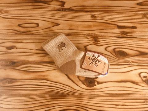 Носки детские из верблюжьей шерсти р.2 года фото1