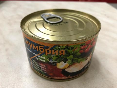 Скумбрия атл. в томатном соусе ж/б (250 гр)