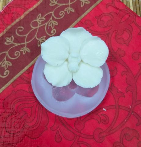 Силиконовая форма молд 3D Цветок Орхидея мини №59 5 см