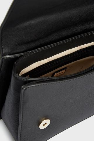 Женская черная сумка KATEY CONVERTIBLE XBODY FLAP Guess