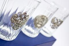 Подарочный набор из 3 граненых стаканов «Неподвластный времени», фото 5