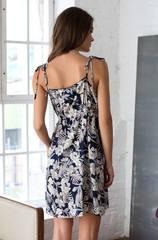 Платье короткое из вискозы