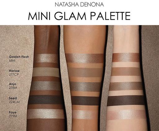 Natasha Denona Mini Glam palette