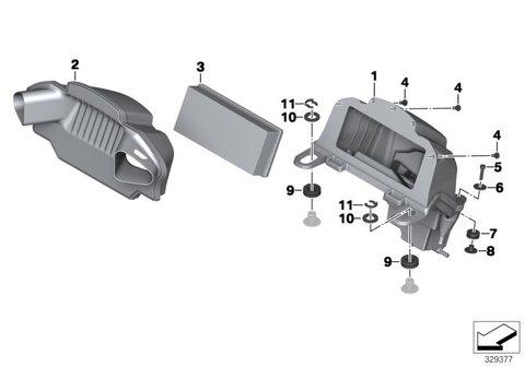 Сменный элемент воздушного фильтра BMW K1600