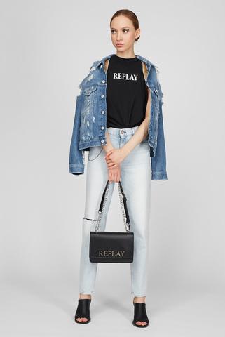 Женская черная сумка Replay