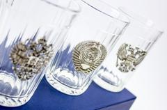 Подарочный набор из 3 граненых стаканов «Неподвластный времени», фото 6