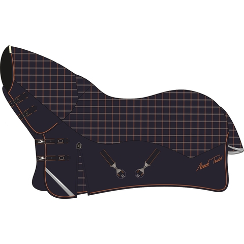 Mark Todd Mediumweight Combo Turnout Rug, Plaid, 250 гр