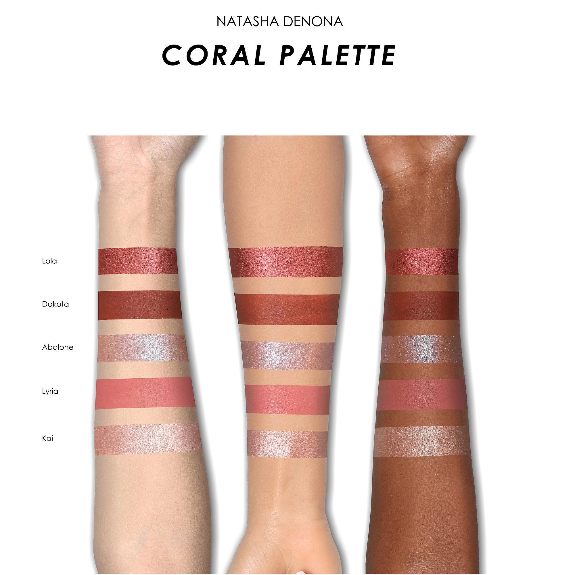 Natasha Denona Coral palette