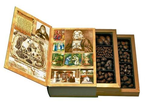 Конфеты в коробке Русь Монастырская 720 гр, Саровский шоколад