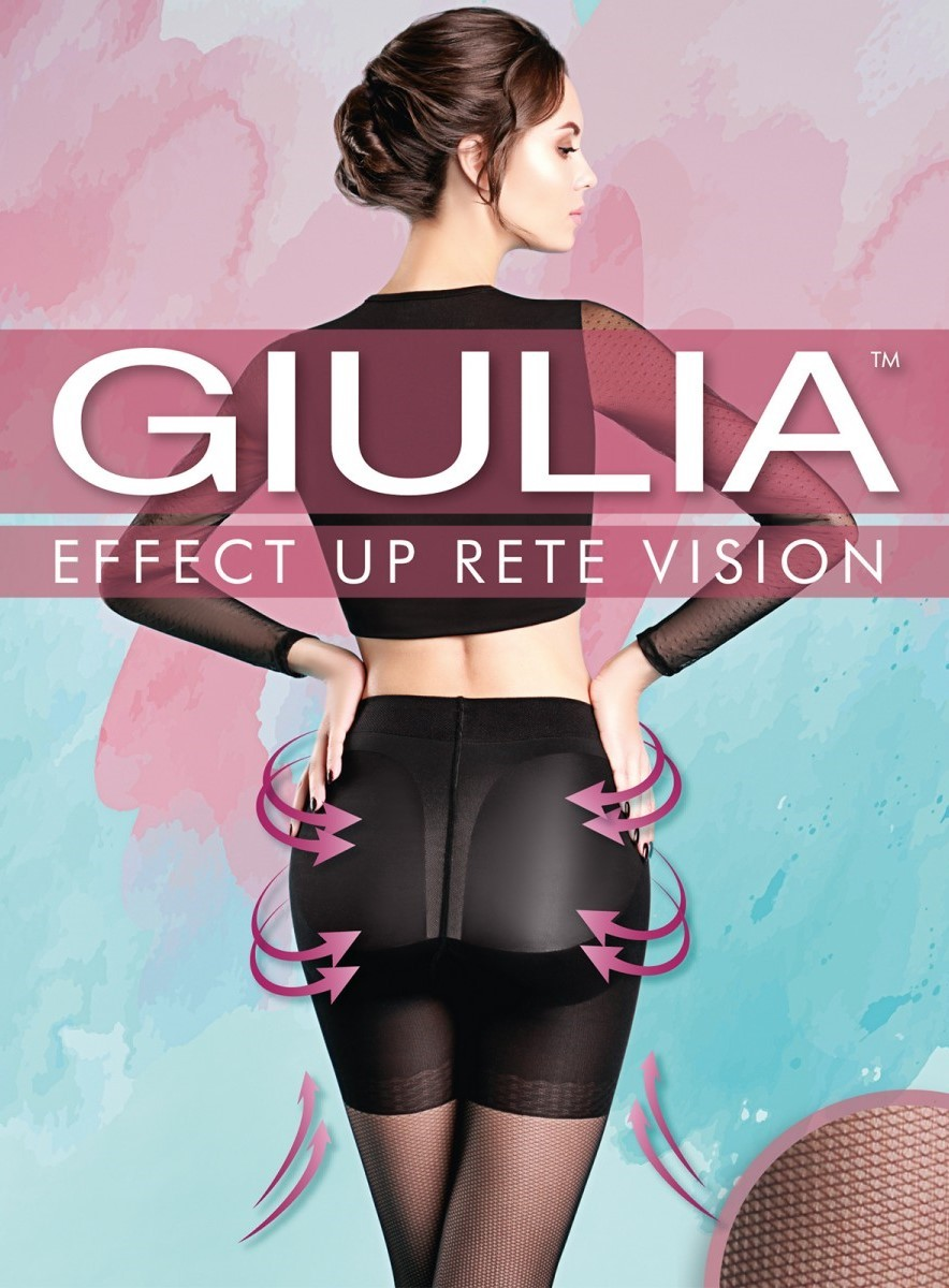 Колготки Giulia EFFECT UP RETE VISION