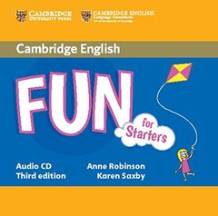Fun for 3Ed Starters  Aud CD !!