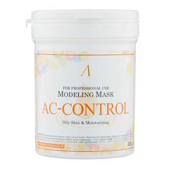Маска альгинатная Anskin AC Control Modeling Mask для проблемной кожи и акне 240 гр банка