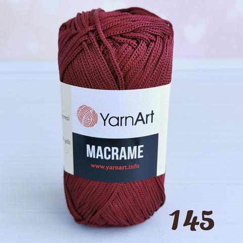 YARNART MACRAME 145, Бордо