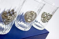 Подарочный набор из 3 граненых стаканов «Неподвластный времени», фото 7