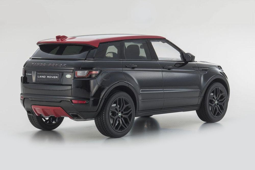 Коллекционная модель Range Rover Evoque Ember 2016 Santorini Black Limited Edition