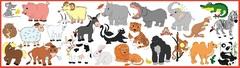 Магнитный набор: «Животные»