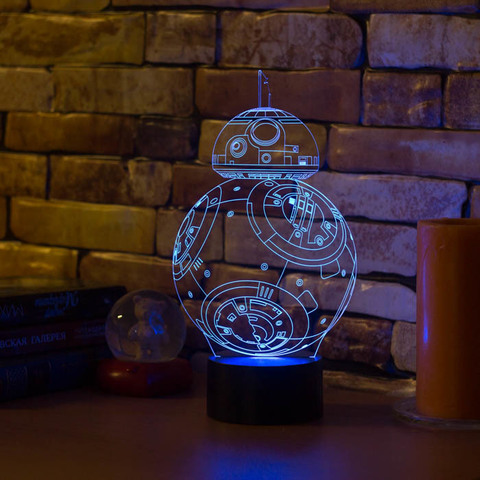 Лампа Робот BB-8