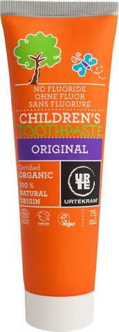 Urtekram Детская органическая зубная паста, ORIGINAL, 75 мл