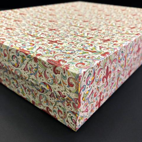 Коробка подарочная Рубашка Красная лилия, 2