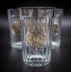 Подарочный набор из 3 граненых стаканов «Неподвластный времени», фото 8