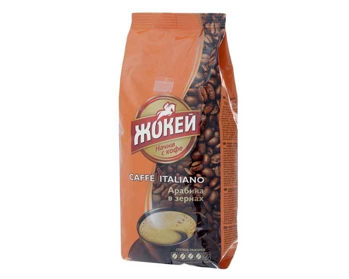 Кофе в зернах Жокей Caffé Italiano, 500 г