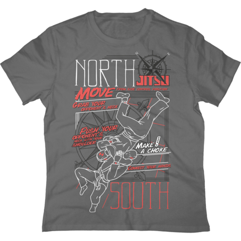 Футболка Jitsu North-South