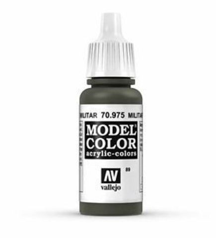 Model Color Military Green 17 ml.