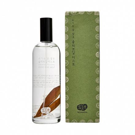 Спрей для лица, с экстрактом оливковых листьев Whamisa, 100 мл