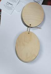 Вырубка из дерева, фанеры, 3-4 мм, 1 шт.