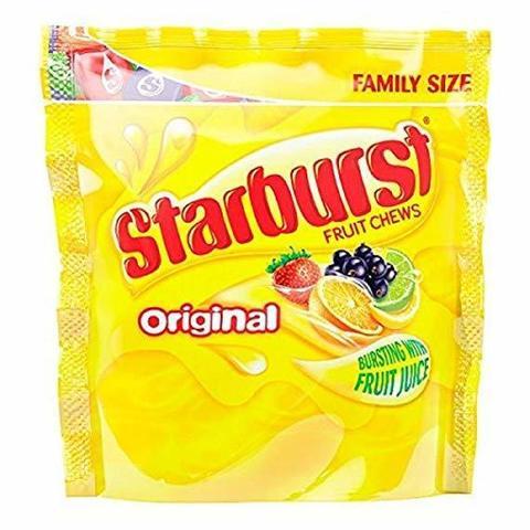 Starburst Original Жевательные конфеты Старберст оригинальные 210 гр