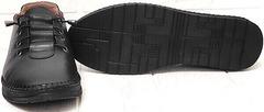 Стиль casual мокасины черные кроссовки с черной подошвой женские EVA collection 151 Black.