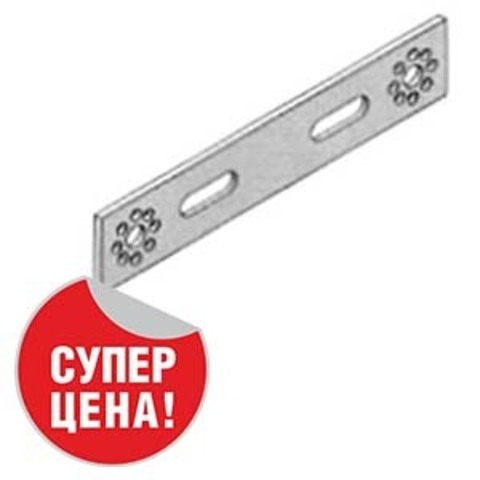 Пластина монтажная двухсторонняя водорозеток 76 мм Unipipe