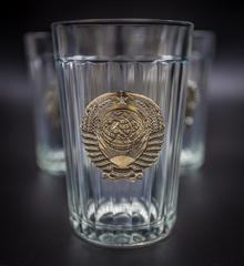 Подарочный набор из 3 граненых стаканов «Неподвластный времени», фото 9
