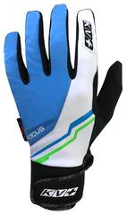 Перчатки лыжные KV+ Focus blue\white