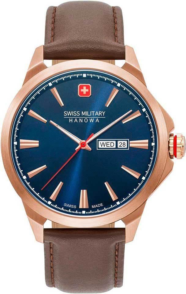 Часы мужские Swiss Military Hanowa 06-4346.02.003 Day Date Classic