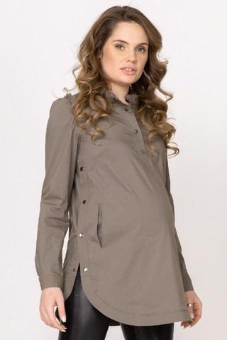 Туника для беременных 10829 хаки