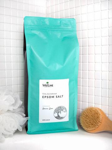 Welive Английская соль EPSOM salt 2,5 кг